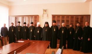засідання 12 Відбулось засідання Синодального управління у справах духовної освіти