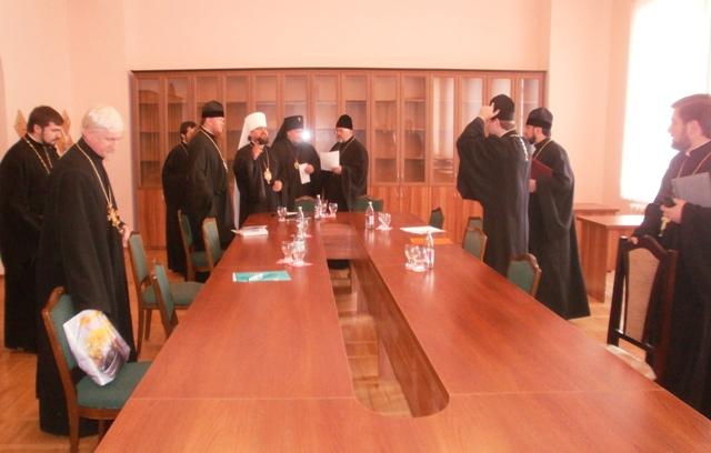 засідання 3 Відбулось засідання Синодального управління у справах духовної освіти