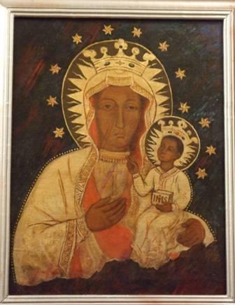 Ікона з Академії Белзько Ченстоховська ікона Божої Матері
