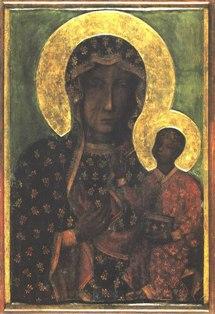 Czestochowska Белзько Ченстоховська ікона Божої Матері