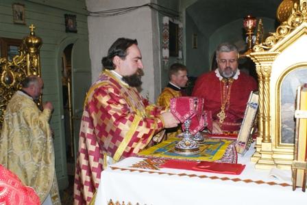 празник 1 Святкування престольного свята у Свято Пятницькій церкві м.Львова