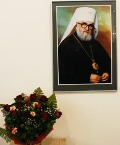 Владика Миколай Відкриття виставки