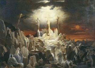 Распятие Иисуса Христа Я бачив сон...