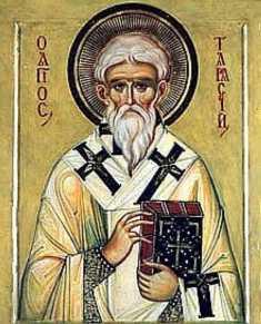 Tarasii Життя святителя Тарасія Константинопольського