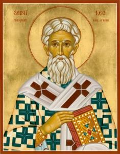 ib3171 Життя святого Льва, папи Римського