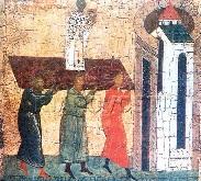 перенесення мощей Оповідання про перенесення мощей святителя Миколая Мирлікійського