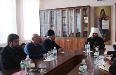 11 Відбулось засідання Синодального управління у справах духовної освіти