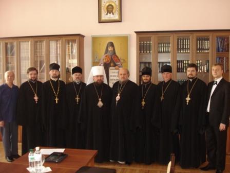 2 Відбулось засідання Синодального управління у справах духовної освіти