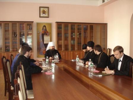 3 Відбулось засідання Синодального управління у справах духовної освіти