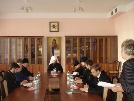 4 Відбулось засідання Синодального управління у справах духовної освіти