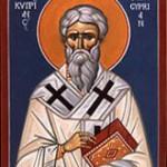 cyprian 150x150 Життя і страждання священномучиника Кіпріана Карфагенського