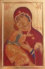 wladimirska klein farb Святкування на честь стрітення Володимирської ікони Божої Матері