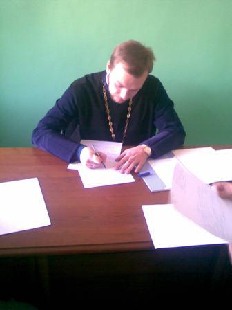 23 Засідання кафедри Священного Писання