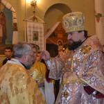 191 150x150 ЛПБА взяла участь у святковій всенічній у Свято Іоано Золотоустівському монастирі