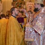 211 150x150 ЛПБА взяла участь у святковій всенічній у Свято Іоано Золотоустівському монастирі