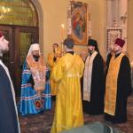 9 1 150x150 ЛПБА взяла участь у святковій всенічній у Свято Іоано Золотоустівському монастирі