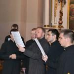 3 150x150 Студенти ЛПБА молились у Свято Покровському кафедральному соборі