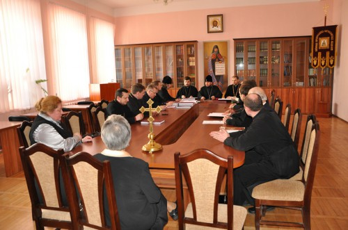 666 e1333969874314 Священик Михайло Сивак взяв участь в засіданні спеціалізованої вченої ради КПБА