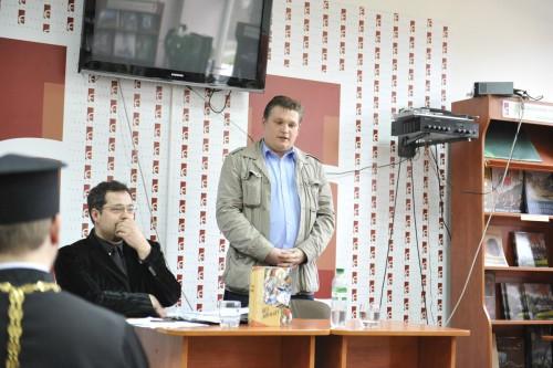 DSC5194 e1335110982784 У Львові відбулась презентація книги Юрія Дорошенка Без догмату. Релігійні магістралі