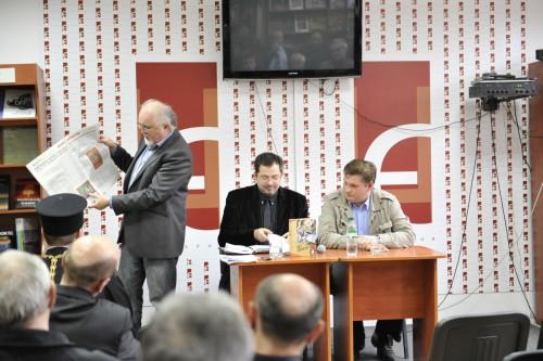 DSC5220 e1335110917888 У Львові відбулась презентація книги Юрія Дорошенка Без догмату. Релігійні магістралі
