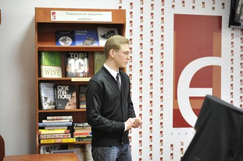 DSC5222 e1335110895185 У Львові відбулась презентація книги Юрія Дорошенка Без догмату. Релігійні магістралі