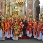14 150x150 ЛПБА взяла участь у святкуванні тезоіменитства Митрополита Львівського і Сокальського Димитрія