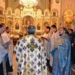 341 150x150 ЛПБА молилась за богослужінням на храмовому святі в о.Ректора