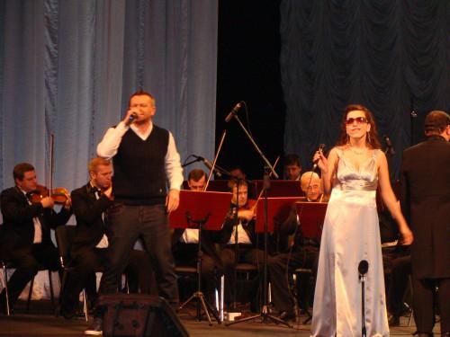 DSC08910 e1359147133895 У Львові відбувся ювілейний концерт незрячих виконавців «Відчинилося життя»