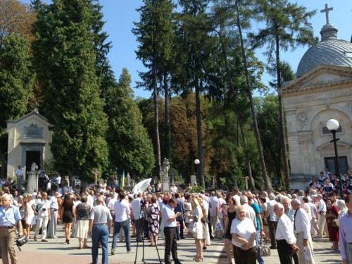 1175187 530147900392078 1785886719 n e1376944377522 У Львові відкрили пам'ятник композитору Ігорю Білозіру