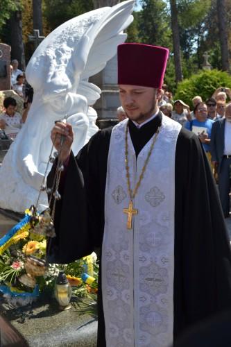 DSC 0768 e1376944850555 У Львові відкрили пам'ятник композитору Ігорю Білозіру