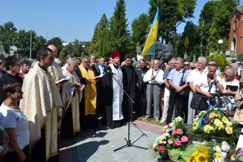 DSC 0770 e1376945170724 У Львові відкрили пам'ятник композитору Ігорю Білозіру