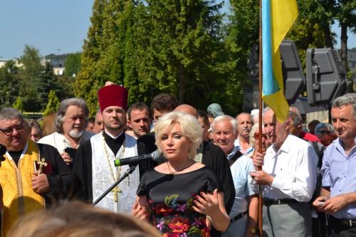 DSC 0782 e1376945682262 У Львові відкрили пам'ятник композитору Ігорю Білозіру