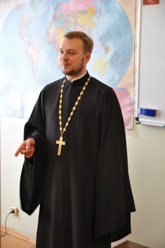DSC 2456 e1383583782360 Проректор ЛПБА прочитав лекцію для аспірантів столичної духовної академії