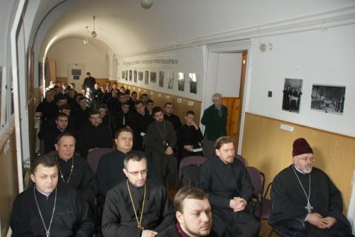 DSC08235 e1425850551481 Відомий німецький богослов прочитав лекції у Львівській православній богословській академії