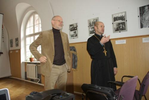 DSC08241 e1425850329241 Відомий німецький богослов прочитав лекції у Львівській православній богословській академії
