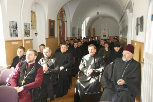 DSC08250 e1425850887811 Відомий німецький богослов прочитав лекції у Львівській православній богословській академії