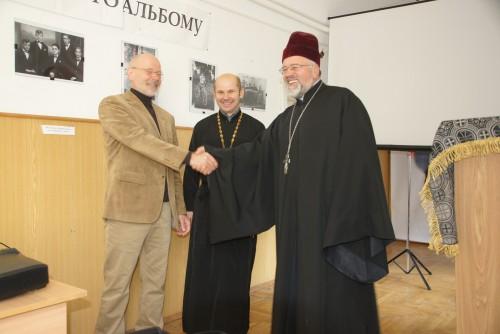 DSC08262 e1425850968915 Відомий німецький богослов прочитав лекції у Львівській православній богословській академії