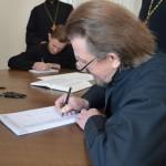 DSC 0036 150x150 Львівська православна богословська академія взяла участь у всеукраїнському переписуванні Біблії