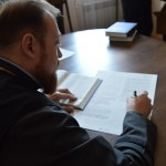 DSC 0060 150x150 Львівська православна богословська академія взяла участь у всеукраїнському переписуванні Біблії