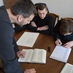 DSC 1065 150x150 Львівська православна богословська академія взяла участь у всеукраїнському переписуванні Біблії
