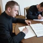 DSC 1089 150x150 Львівська православна богословська академія взяла участь у всеукраїнському переписуванні Біблії