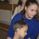 DSC 0804 150x150 У ЛПБА вперше відбувся дитячий зимовий табір   веселі канікули